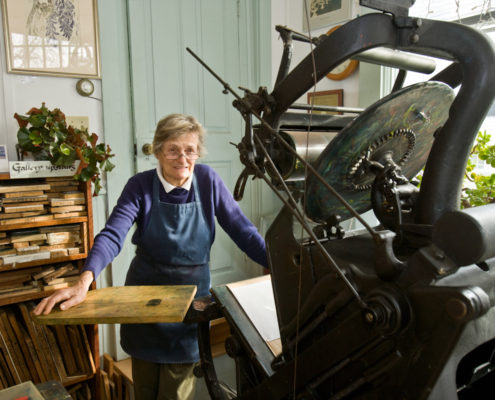 golding printing press