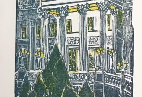 Marble House xmas card