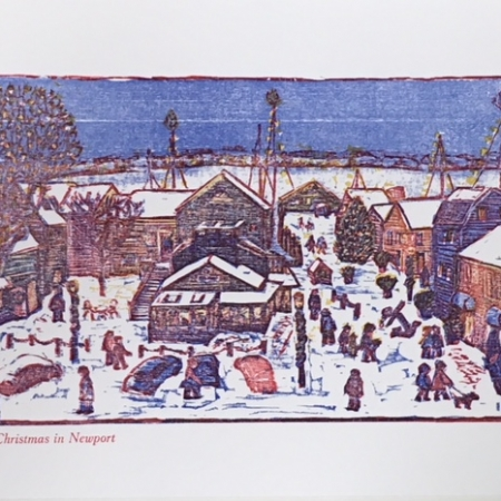Wharf Christmas card