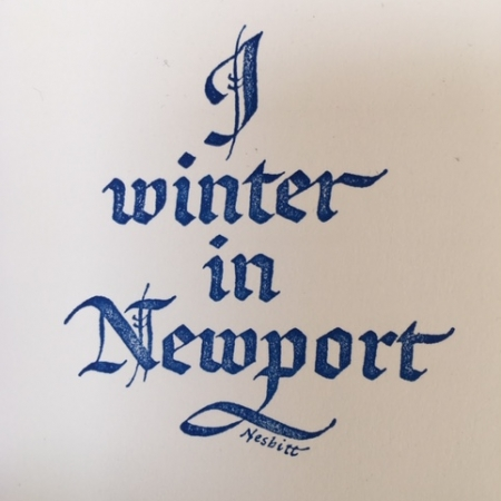 I Winter in Newport