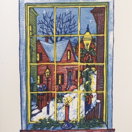 Christmastime in Newport card