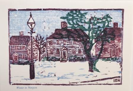 Winter in Newport, Illuminated
