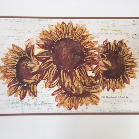 Four Sunflowers