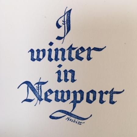 I Winter in Newport