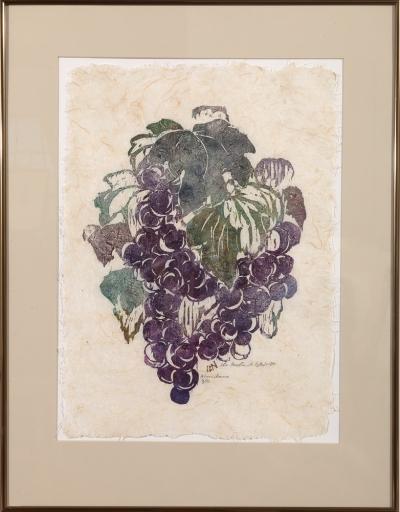"Framed print ""Abundance"" by Ilse Buchert Nesbitt"