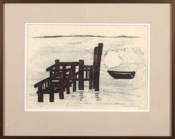 """framed print """"Far Horizon"""" by Ilse Buchert Nesbitt"""
