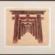 "Framed print ""Temple Gates - Fushimi Inari Temple, Kyoto"" by Ilse Buchert Nesbitt"
